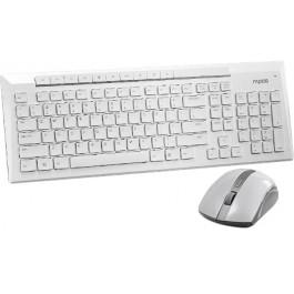 a4aafe62c81 RAPOO 8200p Wireless Mouse & Keyboard Combo White купить в интернет ...