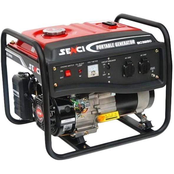 Бензиновый генератор senci генератор