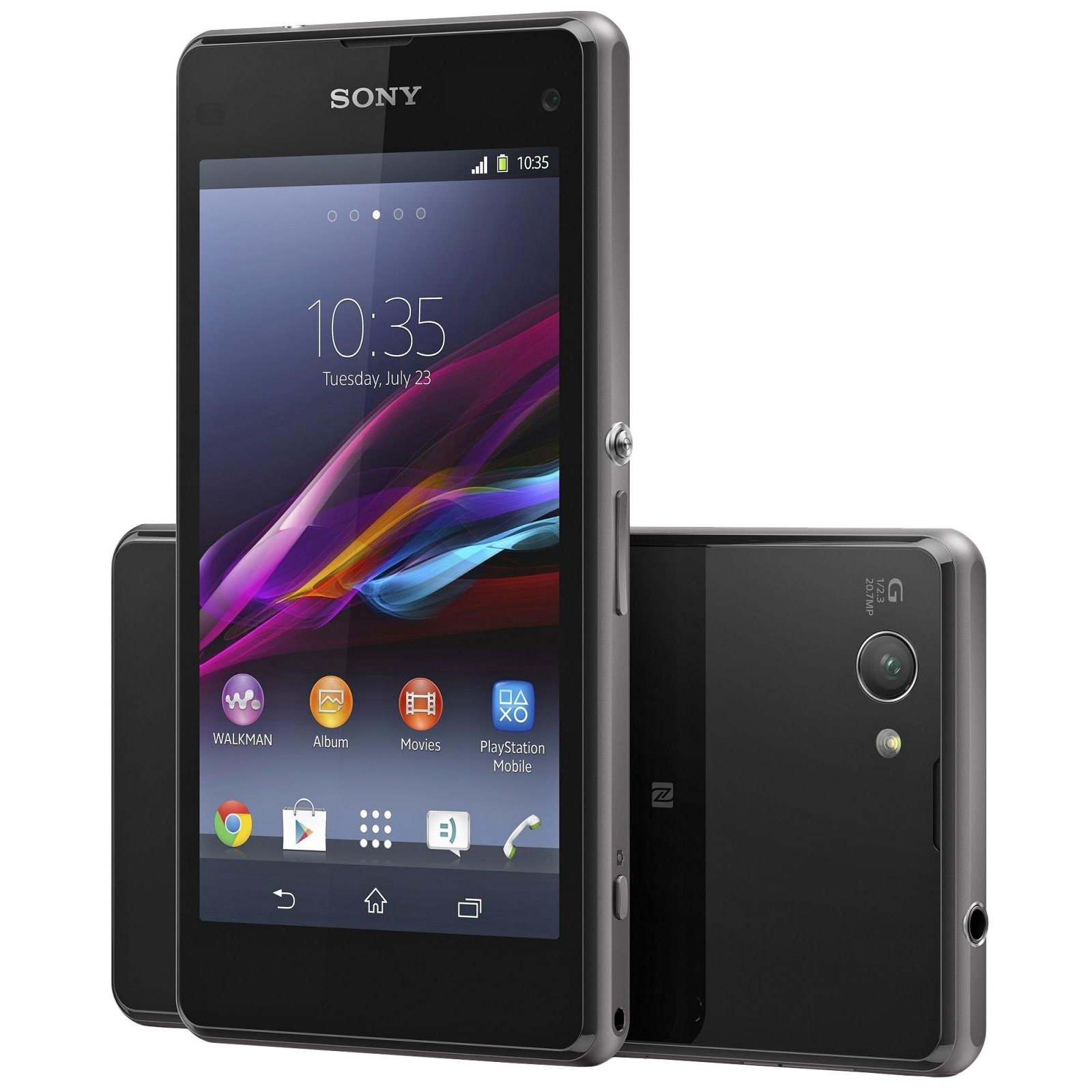 Sony Xperia Z1 Compact D5503 (Black) купить в интернет ...