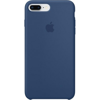 iPhone 8 Plus Silicone Case - Blue Cobalt (MQH02)