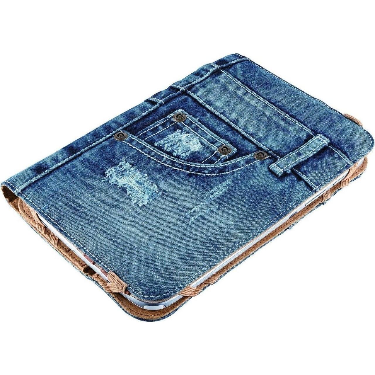 Как сшить чехол для планшета из джинсов