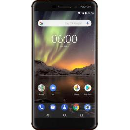 442fb7e265038 Nokia 6.1 3/32GB Black (11PL2B01A11) купить в интернет-магазине ...