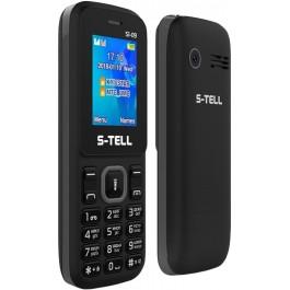 437f759c712b7 S-TELL S1-09 Black купить в интернет-магазине: цены на мобильный ...