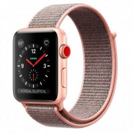 купить Apple Watch Series 3 GPS + Cellular 42mm Gold Aluminum w. Pink Sand  Sport 8f73748c4140f