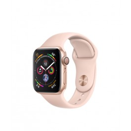 f8b5f8d8 Apple Watch Series 4 GPS 40mm Gold Alum. w. Pink Sand Sport b. Gold ...