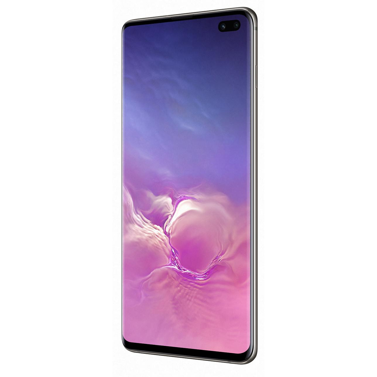 e48c715eb4671 Samsung Galaxy S10 Plus SM-G975 DS 128GB Black (SM-G975FZKD) купить в  интернет-магазине: цены на смартфон Samsung Galaxy S10 Plus SM-G975 DS 128GB  Black ...