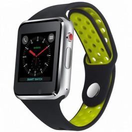 67668305d04c1 UWatch Smartwatch M3 Black/green купить в интернет-магазине: цены на ...