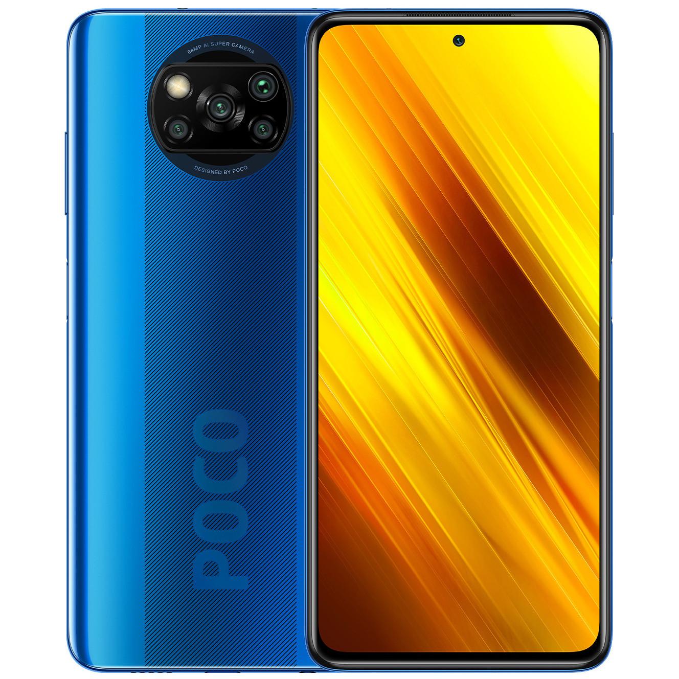 Poco X3 NFC 6-64GB Cobalt Blue