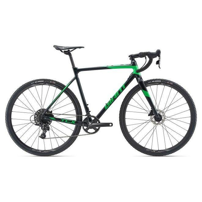 Giant TCX SLR 2 2019 / рама 52,5см metal black/flash green/black - зображення 1