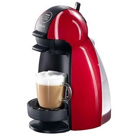 bargain krups nescaf dolce gusto kp1006 piccolo coffee machine red 0010942210085 ebay. Black Bedroom Furniture Sets. Home Design Ideas
