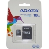 A-Data 16 GB microSDHC class 10 + SD adapter AUSDH16GCL10-RA1