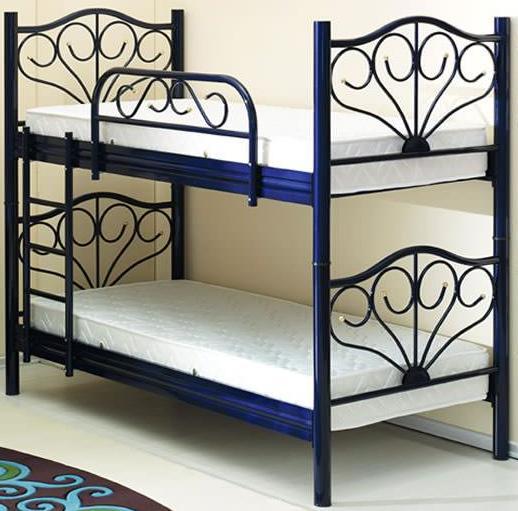 Кровать двухярусная Rana RN 001 (0.9), Onder Metal, фото 2 - Интернет