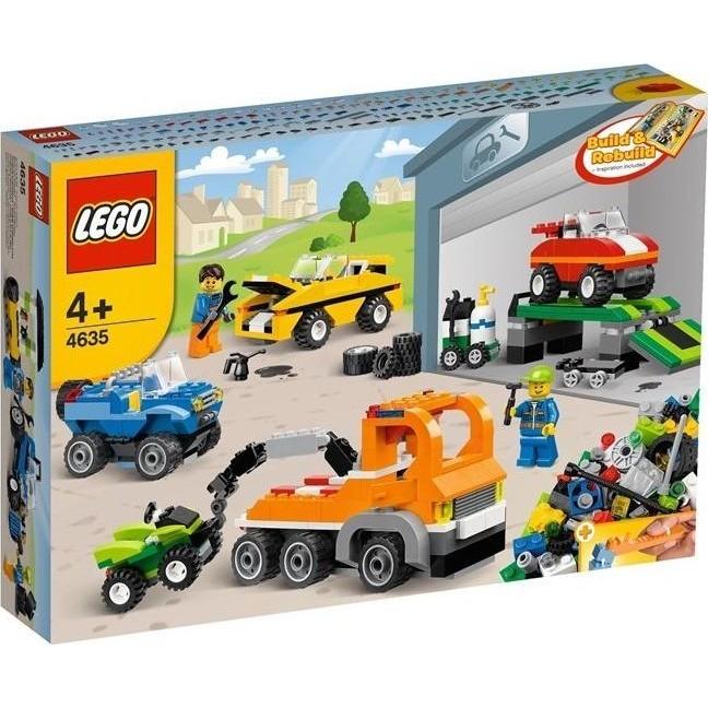 Пластмассовый конструктор LEGO