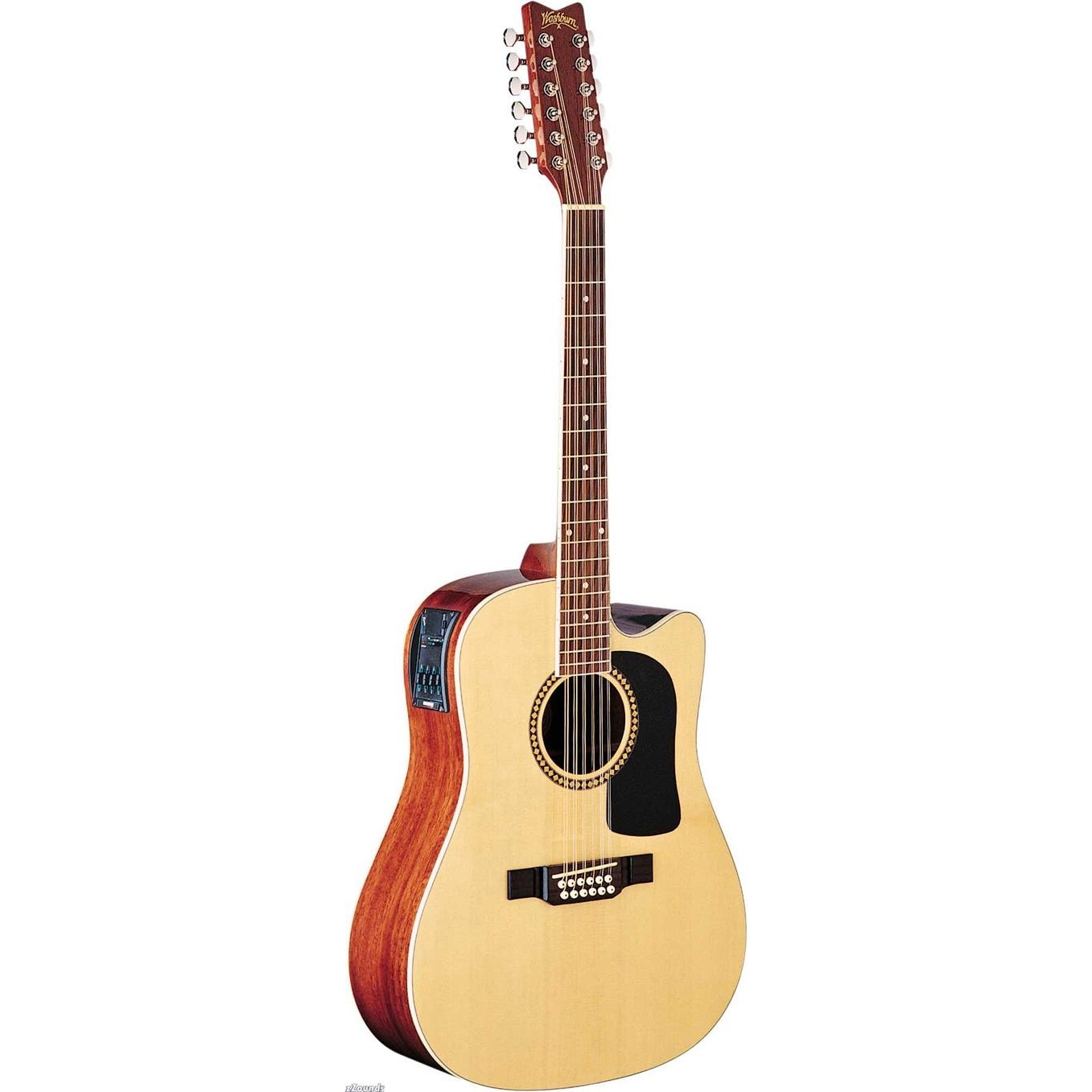 Washburn d10s acoustic guitars