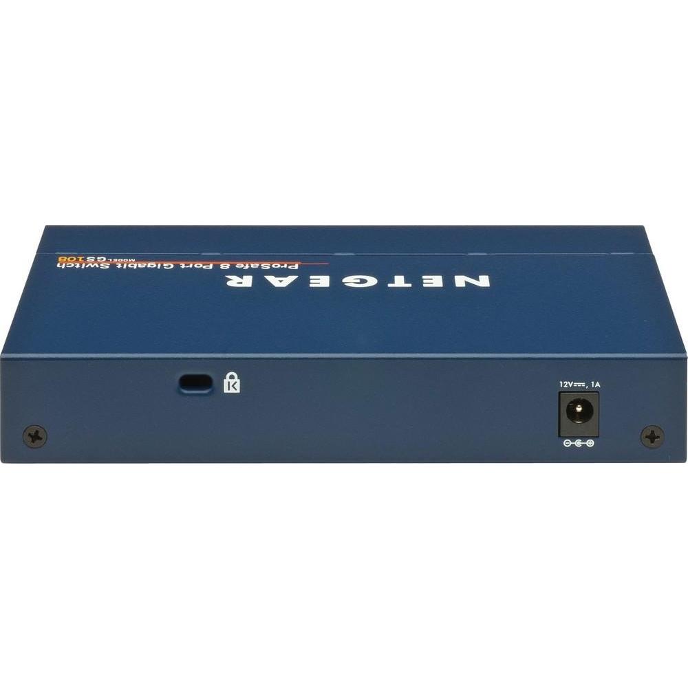 Коммутатор NETGEAR  GS724T-400EUS Управляемый гигабитный Smart-коммутатор на 22GE+2SFP(Combo) портов с опциональной поддержкой функционала ethernet au