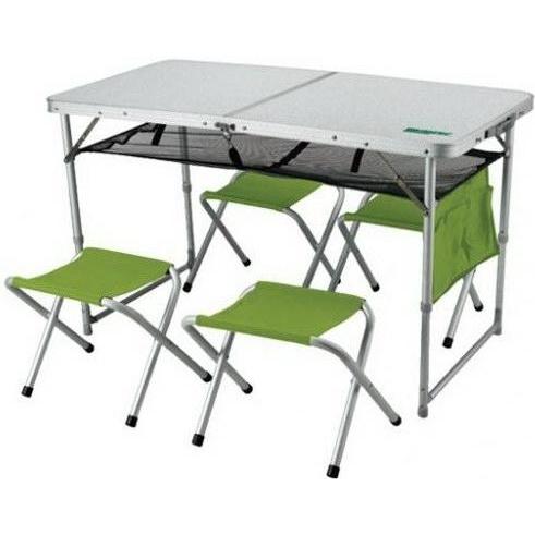 Складной стол со стульями для пикника