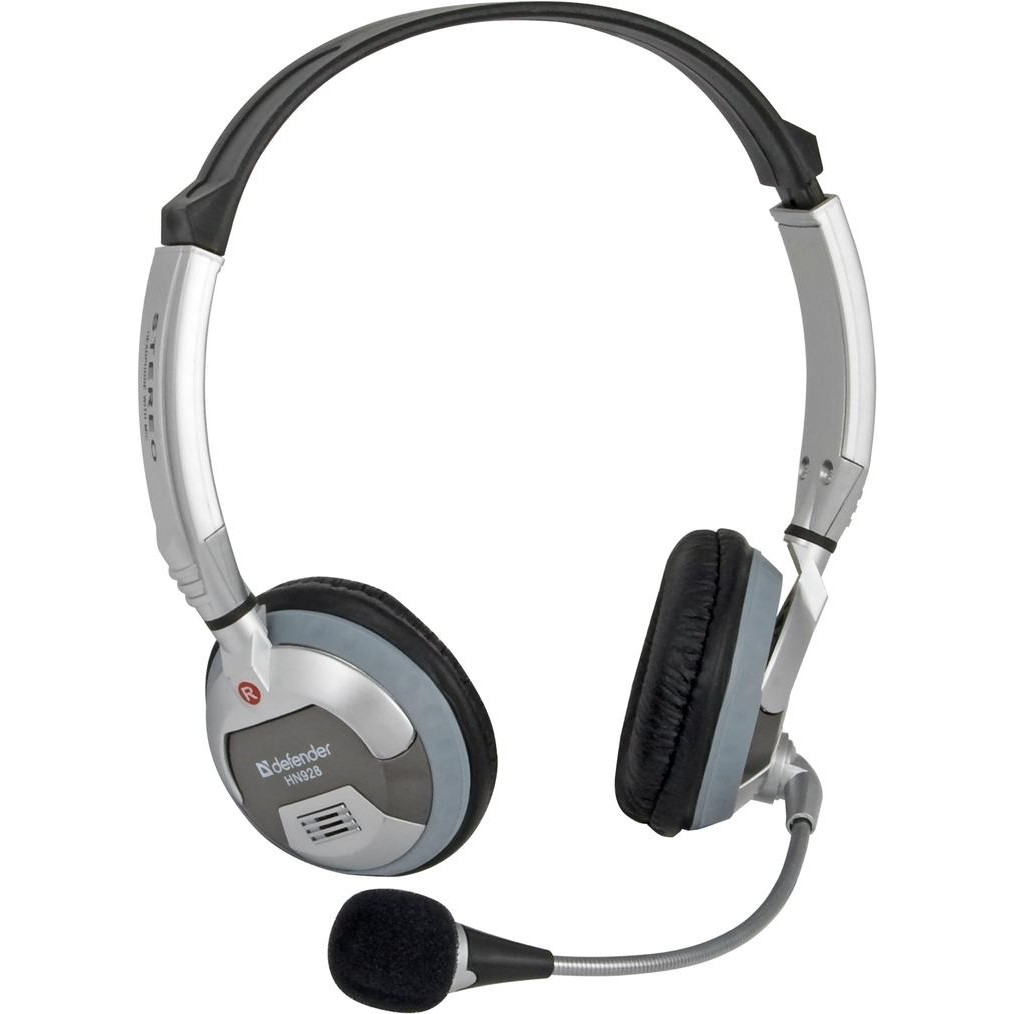 Гарнитура Defender HN-928 Регулят. громк. 3м кабель
