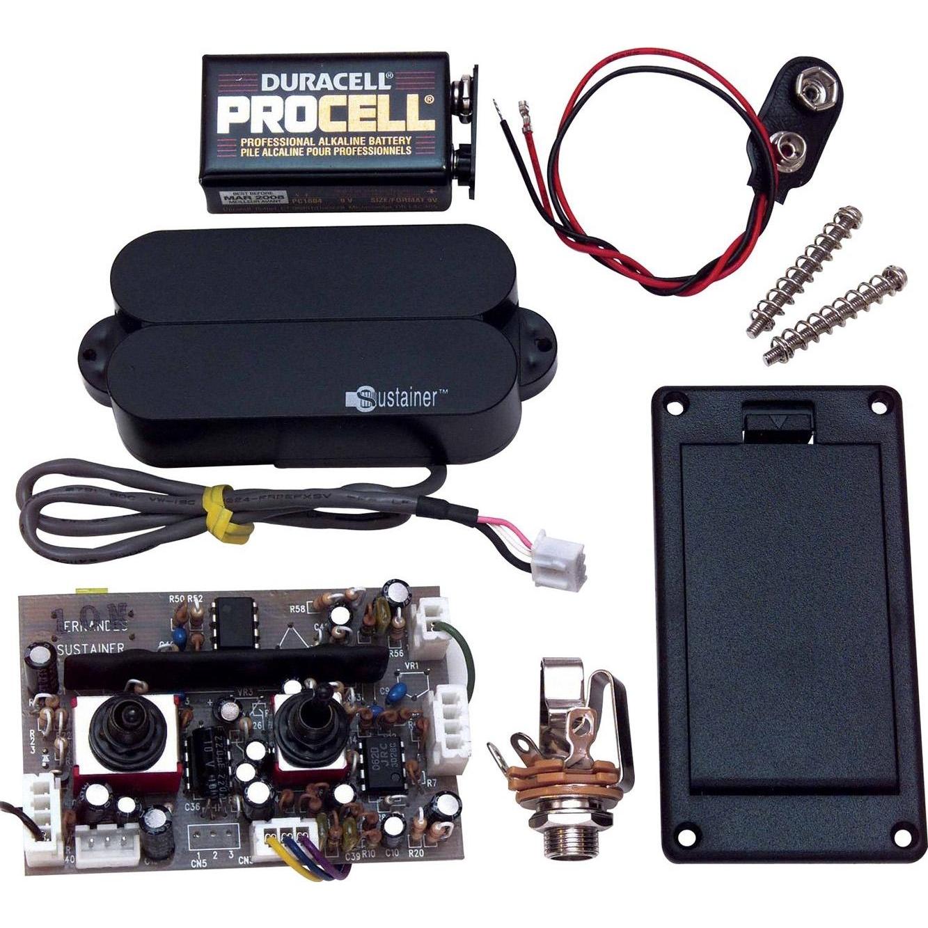 электрическая схема сустейнера для электрогитары