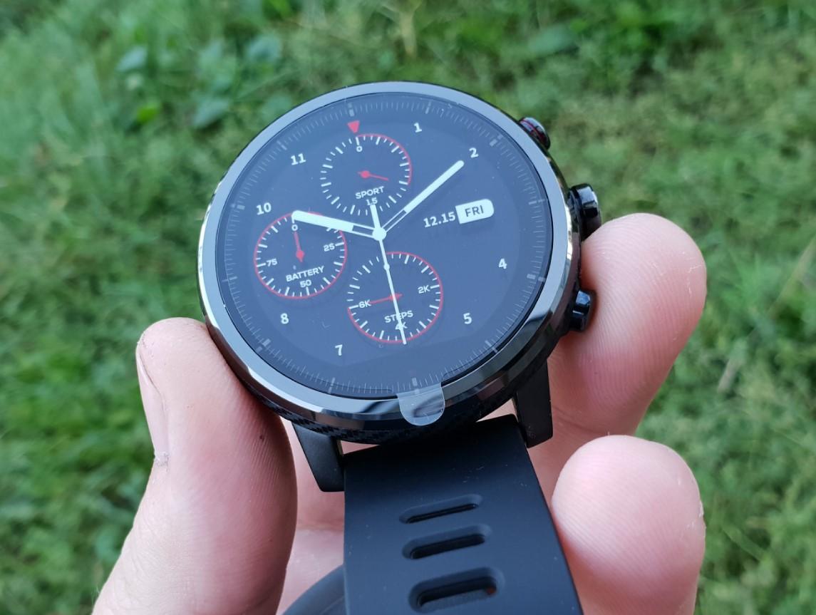 16fab4be Amazfit Stratos Black купить в интернет-магазине: цены на смарт-часы ...