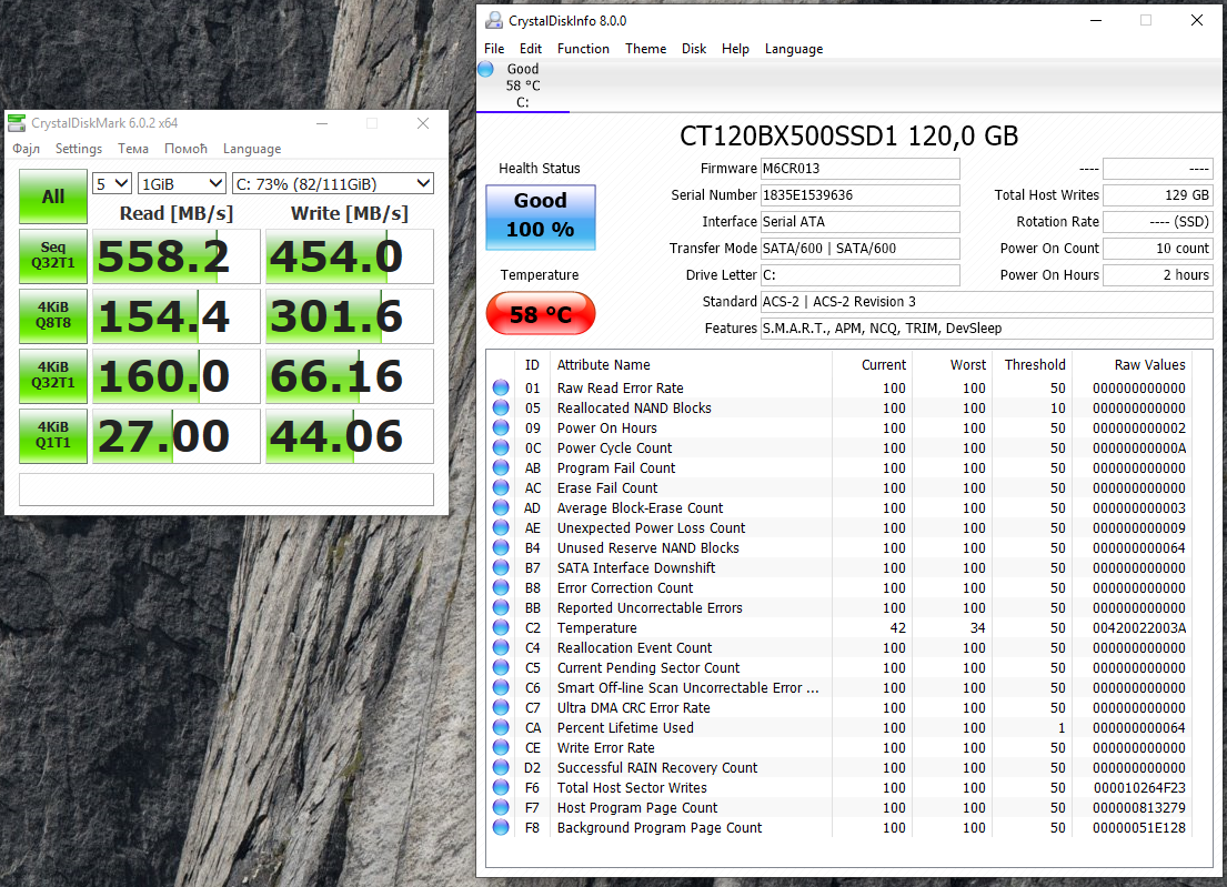 BX500 120 GB (CT120BX500SSD1)