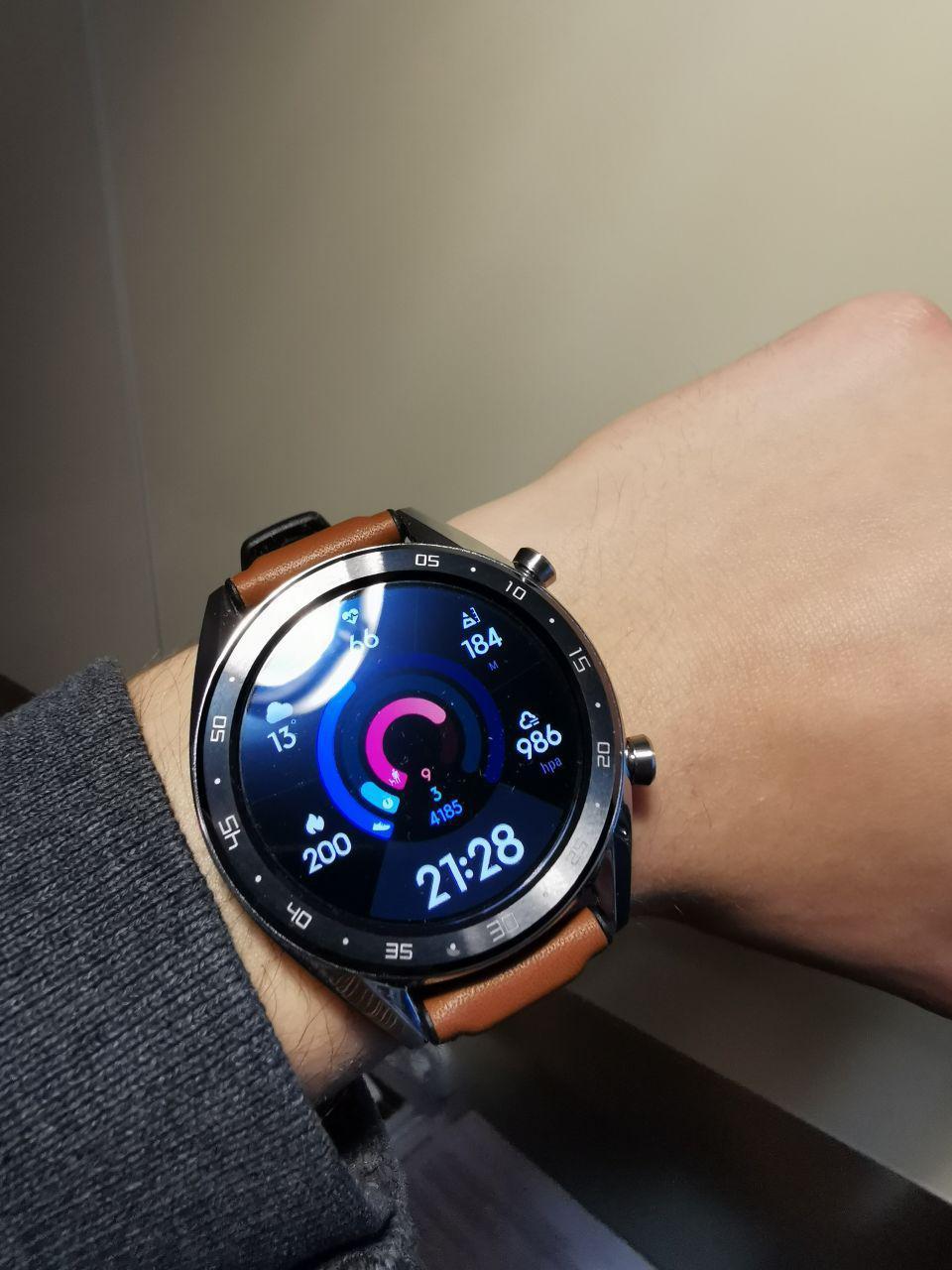 a6b07dd87529d Смарт-часы HUAWEI Watch GT Сlassic Silver (55023257) фотография 1 от  пользователя Oleksandr