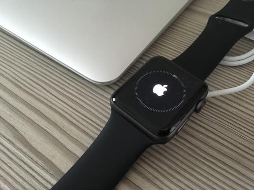 Смарт-часы Apple Watch Series 3 GPS 42mm Space Gray Aluminum w. Black Sport 0afe45072378f