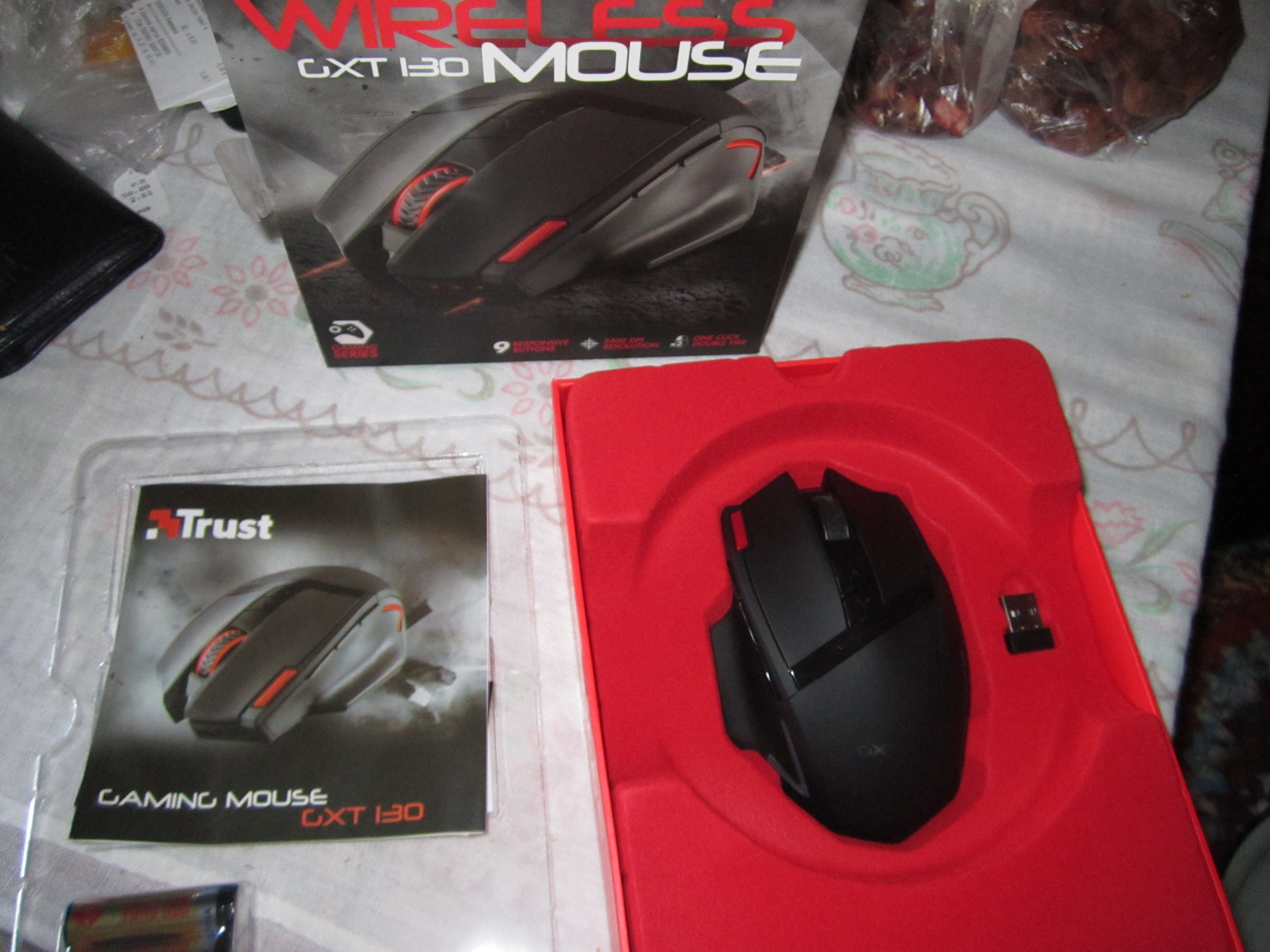 ef3954e29b3 Мышь Trust GXT 130 Wireless Gaming Mouse (20687) фотография 1 от  пользователя NGxWinGeR