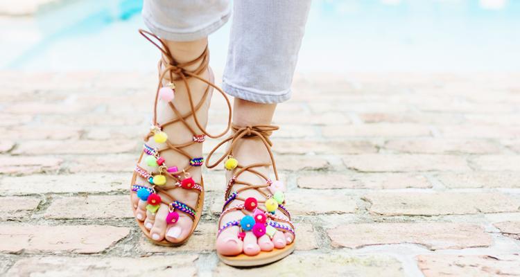 По буквам  как составить обувной гардероб на лето  1 - фото в блоге ( 6b418ea3045