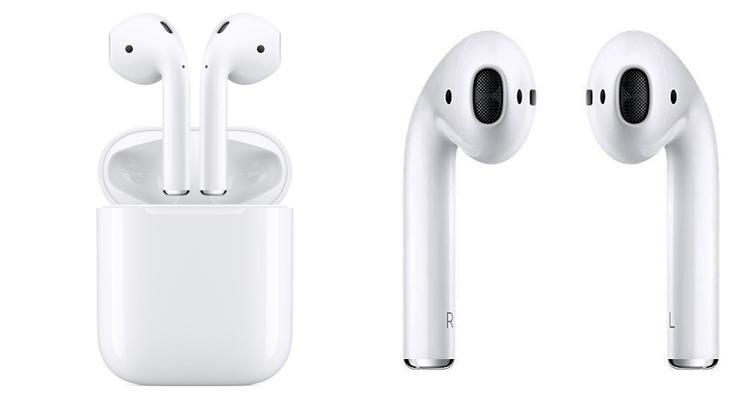 0806b6781b2 Apple AirPods (MMEF2) купить в интернет-магазине  цены на наушники tws  (