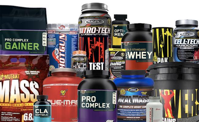 спортивное питание в бутылках