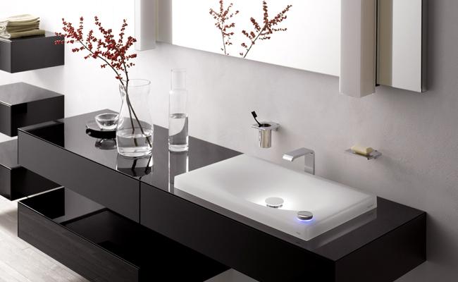 Чаша раковина ванная комната ремонт ванной комнаты освещение