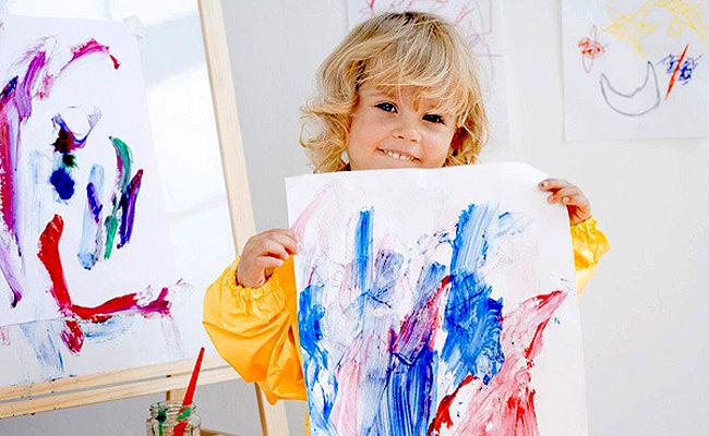 Конкурс с рисованием картины